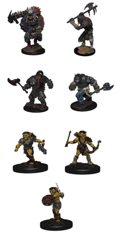 Icons of the Realms: Monster Pack - Village Raiders