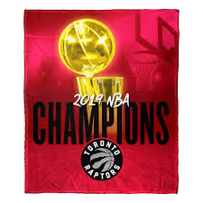 NBA Silk Touch Throw: Toronto Raptors 2019 Champions