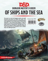5th Edition D&D Dungeon Master's DM Screen - Of Ships and the Sea