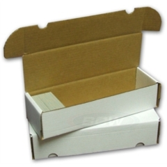 BCW 660-Count Cardboard Box