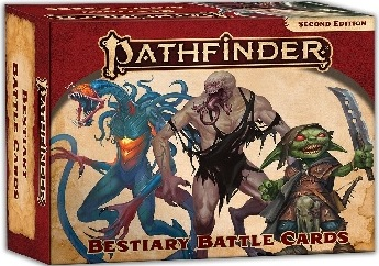 Pathfinder Bestiary Battle Cards