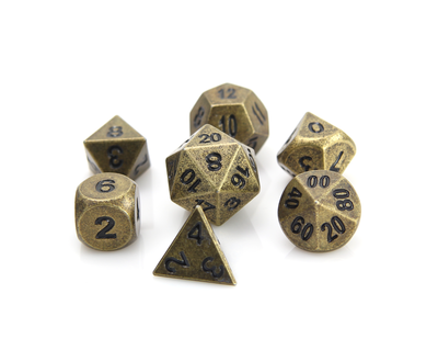 Forge Dice - Ancient Gold