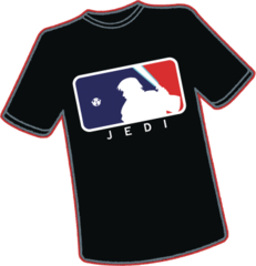 Last Major League Jedi T/S Xxxl
