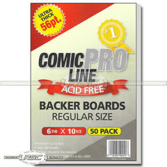 Comic Pro Line Regular Bags - 7x10.5