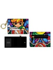 NINTENDO - ZELDA - Window Pane Mini Tri-Fold Jr Wallet Multi