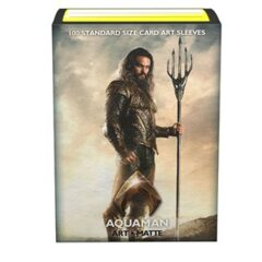 Dragon Shield Limited Edition Matte Art: Justice League Aquaman