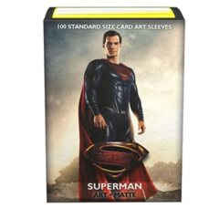 Dragon Shield Limited Edition Matte Art: Justice League Superman
