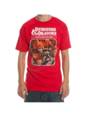 DUNGEONS AND DRAGONS - Game Men's Red Teesize S