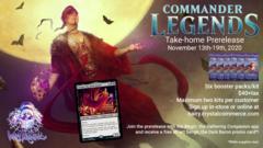 Commander Legends Pre-release Take Home Kit