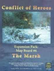 Conflict of Heroes Expansion Pack: Map Board #6 The Marsh