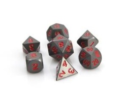 RPG Set - Gunmetal w/ Red