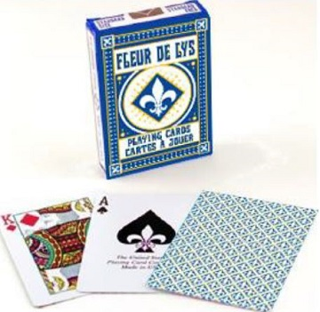 Bicycle Playing Cards: Fleur de Lys