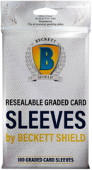 Beckett Shield Resealable Graded Card Sleeves 100ct