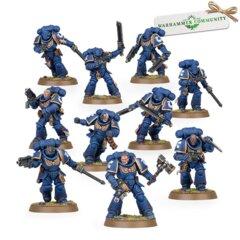 Space Marines Assault Intercessors