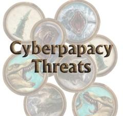 Torg Eternity: Cyberpapacy Threats