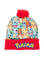 POKEMON - CHARACTERS SUBLIMATED POM CUFF BEANIE