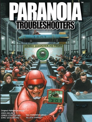 Paranoia - Troubleshooters (Softcover)