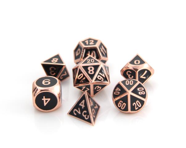 RPG Gothica Set - Shiny Copper w/ Black