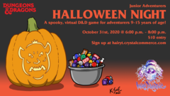 Junior Adventurers: Halloween Night!