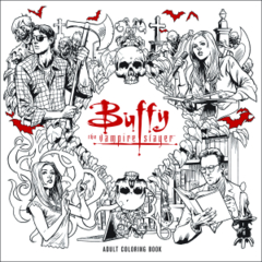 Btvs Adult Coloring Book TP