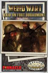 Weird War 1: Raid on Fort Douaumont Adventure and Game Master's Screen