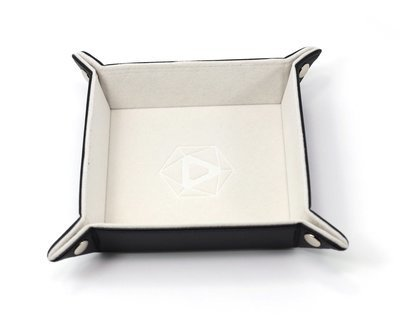 Die Hard Folding Square Tray w/ Cream Velvet