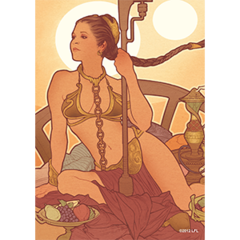 Fantasy Flight Sleeves: Slave Leia 50ct