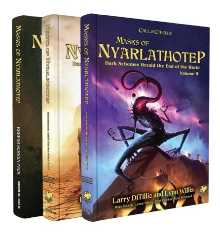 Call of Cthulhu : Masks of Nyarlathotep Collectors Edition