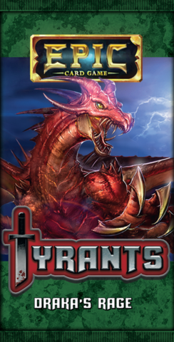 Epic Card Game: Tyrants - Drakas Rage
