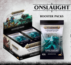 Warhammer Age of Sigmar Champions: Onslaught Booster Box