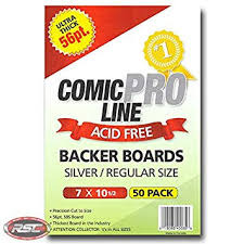 Comic Pro Line Silver Bags 7 1/8 x 10 1/2