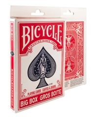 Bicycle Playing Cards: Big Box Red