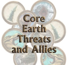 Torg Eternity: Core Earth Threats and Personalities