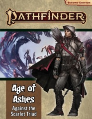 Pathfinder RPG (Second Edition): Adventure Path - Against the Scarlet Triad (Age of Ashes 5 of 6)