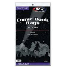 BCW Silver Comic Book Bags