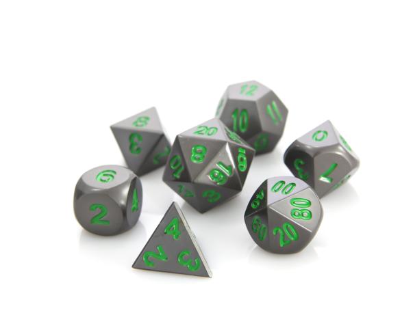 RPG Set - Gunmetal w/ Green