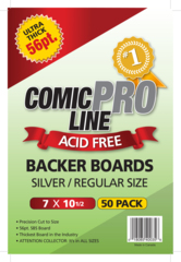 Comic Pro Line Silver Boards 56pt