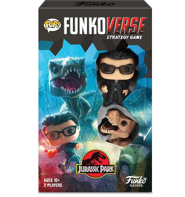 Pop! Funkoverse Strategy Game Jurassic Park 100 Expandalone