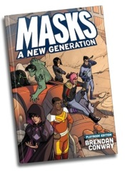 Masks: A New Generation Playbook - Hardcover