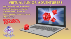 Virtual Junior Adventurers - Thursday