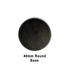 40mm Round Bases (Pack of 5)