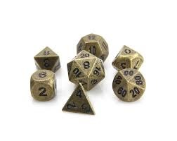RPG Set - Ancient Gold