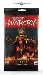 Warcry Cards: Blades of Khorne Bloodbound