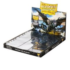 Dragon Shield Sleeves: 18-Pocket Pages (50)