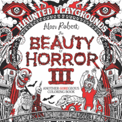 Beauty Of Horror Goregeous Coloring Book TP Vol 03 Haunted P