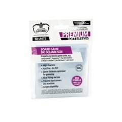 Ultimate Guard Premium Big Square Board Game Sleeves (82mmx82mm)