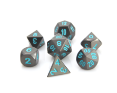 RPG Set - Gunmetal w/ Teal