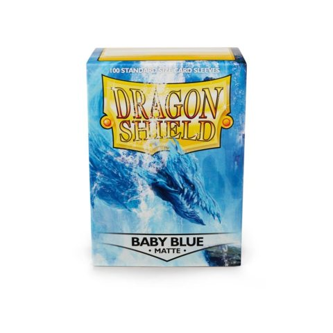 Dragon Shield Box of 100 in Baby Blue