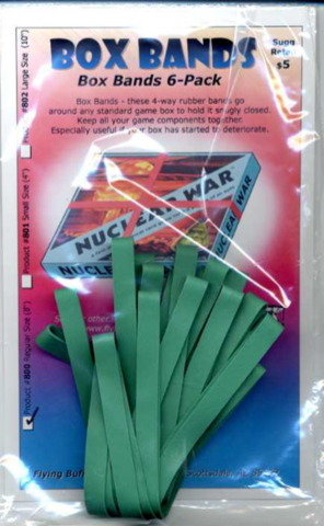 Board Game Box Rubber Bands