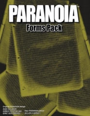 Paranoia - Forms Pack
